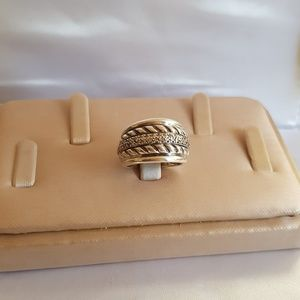 David Yurman Thoroughbred Diamond Cable Ring